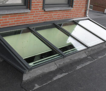 daglicht in plat dak